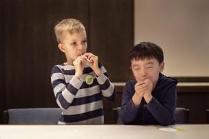 2. Konferenz der Hörclubkinder / © Stiftung Zuhören/Julian Schulz