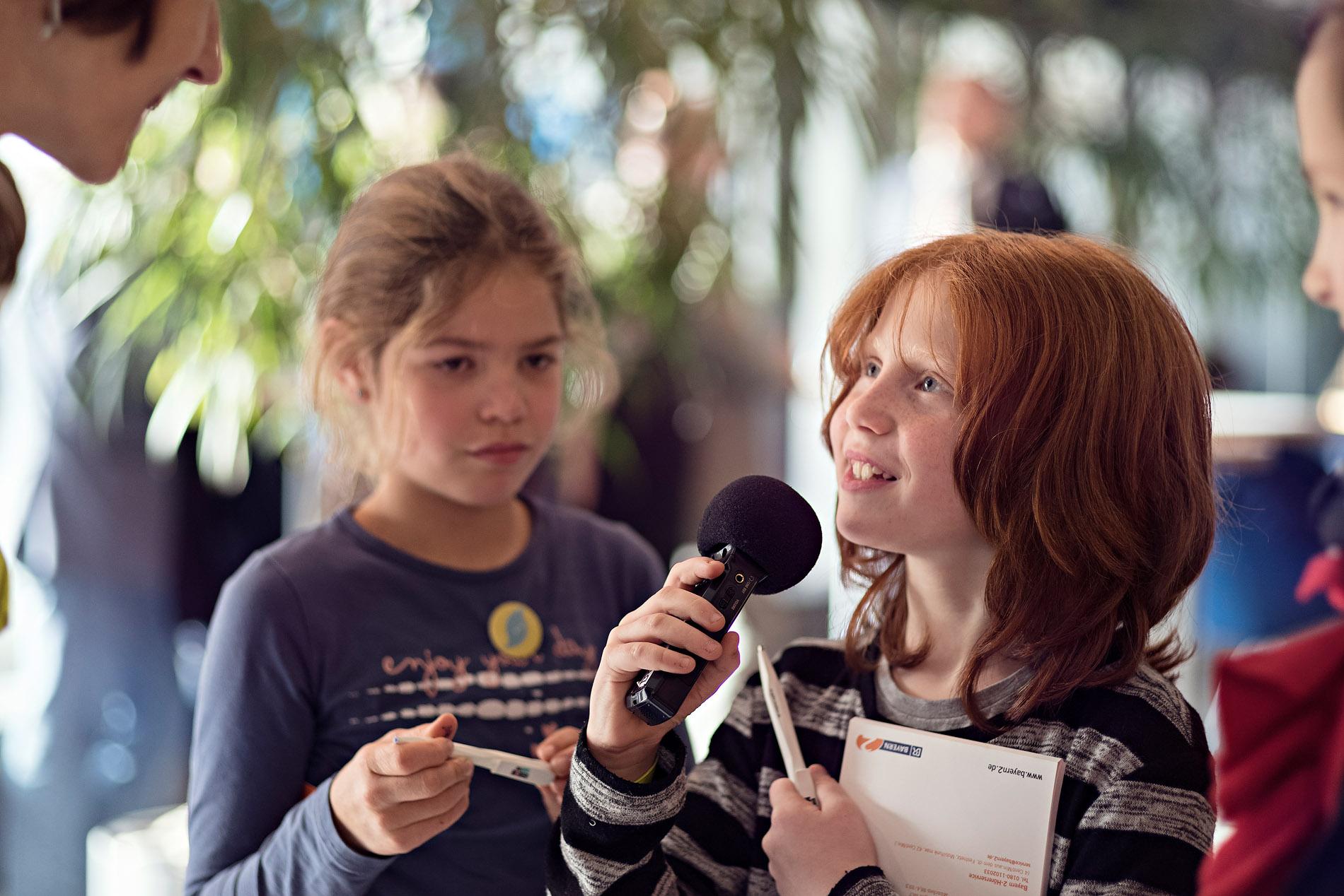 1. Konferenz der Hörclubkinder